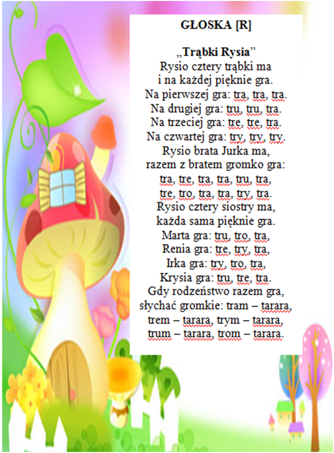 Kącik logopedyczny | Przedszkole Nr 2 im. Misia Uszatka w Węgorzewie